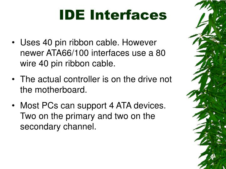 IDE Interfaces
