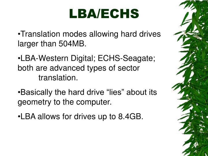 LBA/ECHS