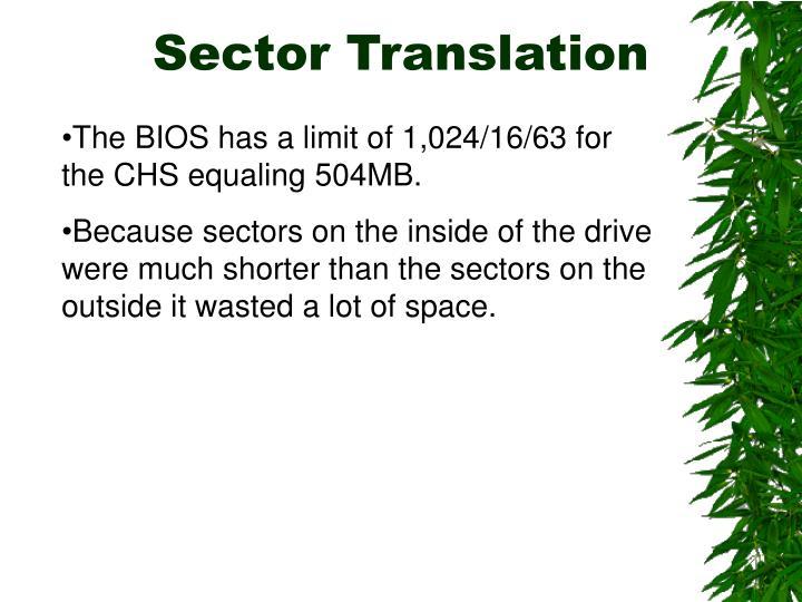 Sector Translation