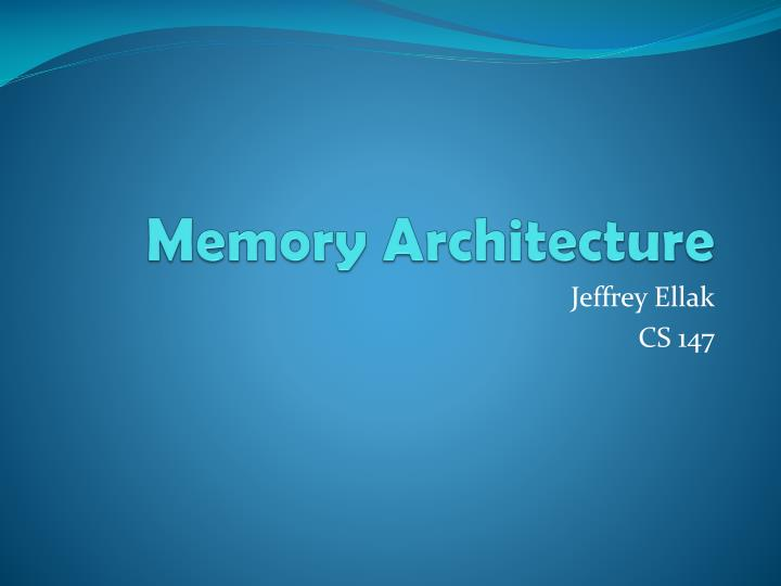memory in architecture 8 memory architecture this chapter discusses the memory architecture of an oracle database instance it contains the following topics: introduction to oracle database memory structures.