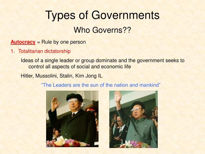 characteristics of totalitarianism