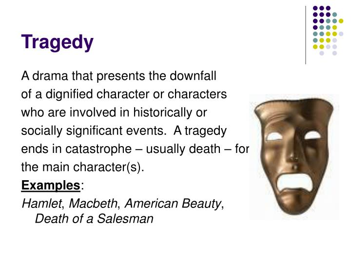 Tragedy of Fate vs. Tragedy of Character