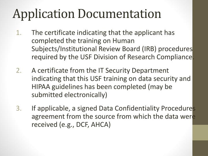 Application Documentation