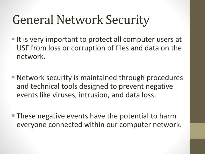 General Network Security