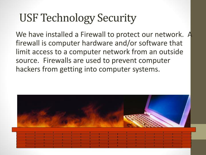 USF Technology Security