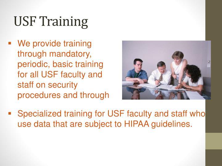 USF Training