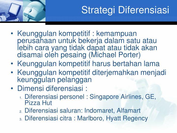 Strategi Diferensiasi