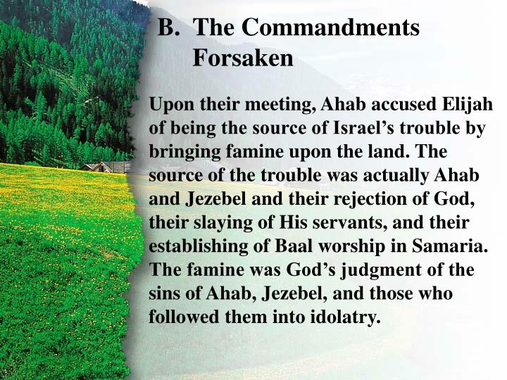 I. Confrontation with Ahab B
