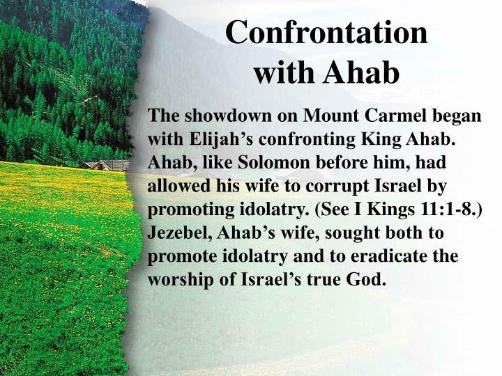 I. Confrontation with Ahab