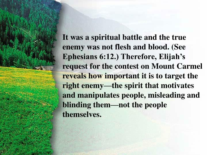II. Challenge to Baal A