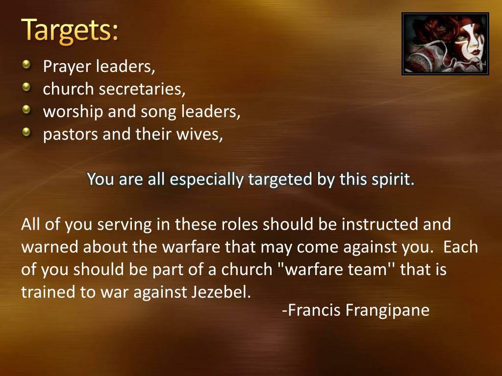 PPT - Discerning the Jezebel Spirit PowerPoint Presentation - ID:3849765