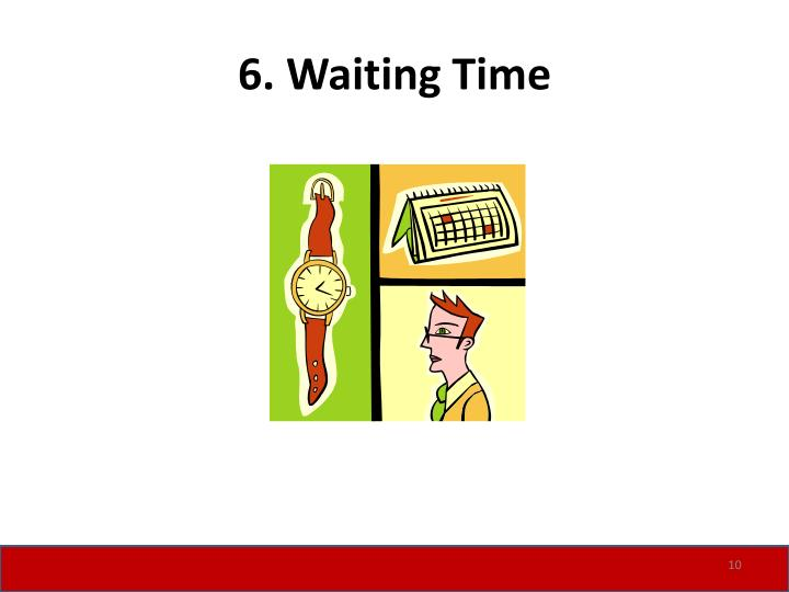 6. Waiting Time
