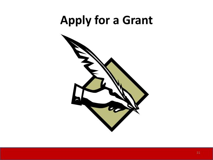 Apply for a Grant