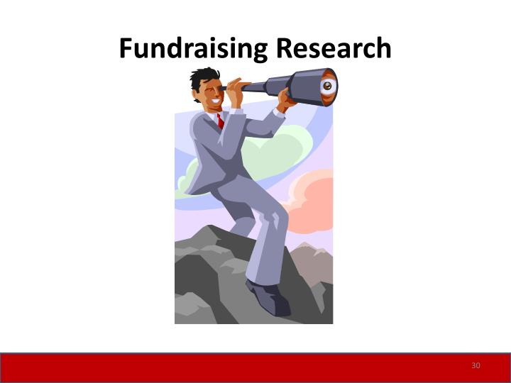 Fundraising Research