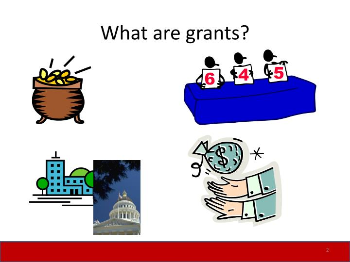 What are grants