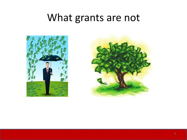 What grants are not