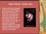 new moon book two