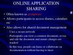 online application sharing