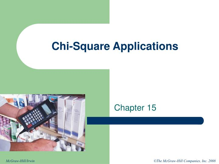 Chi square applications