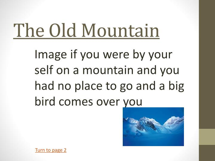 the old mountain n.