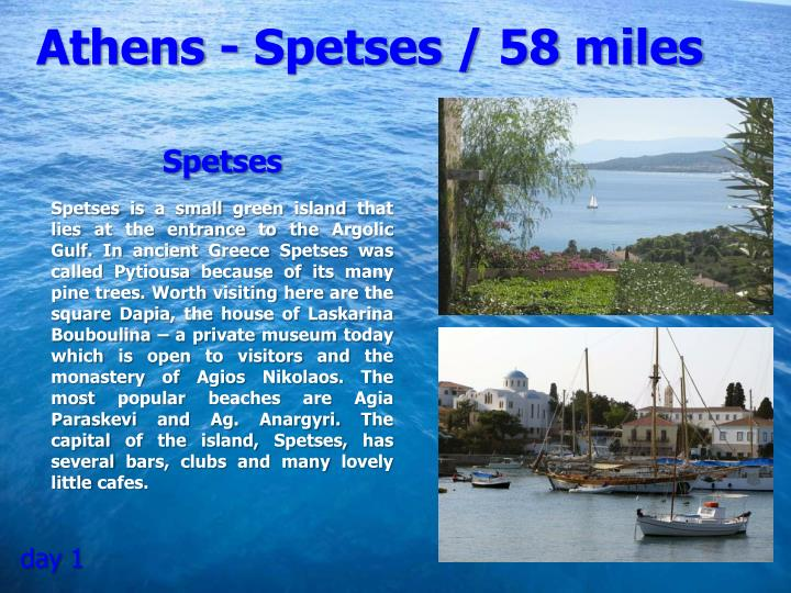 Athens - Spetses