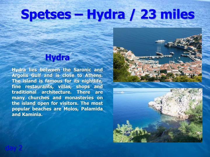 Spetses – Hydra