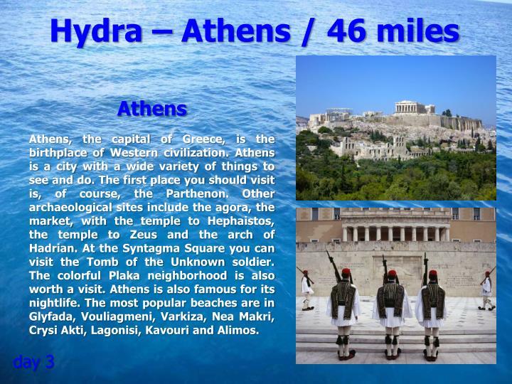 Hydra – Athens