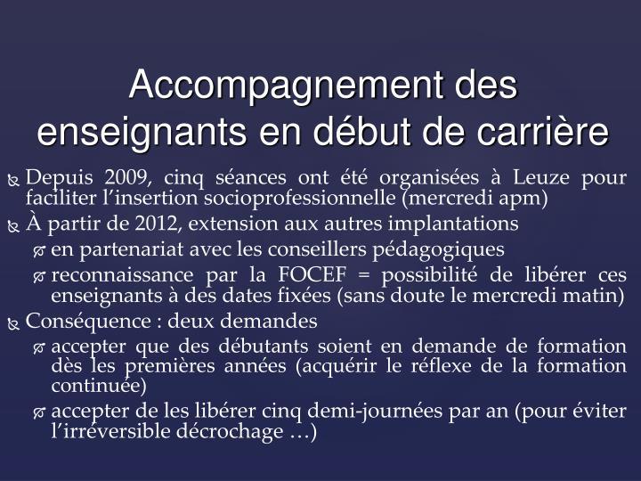Depuis 2009, cinq séances ont été organisées à Leuze pour faciliter l
