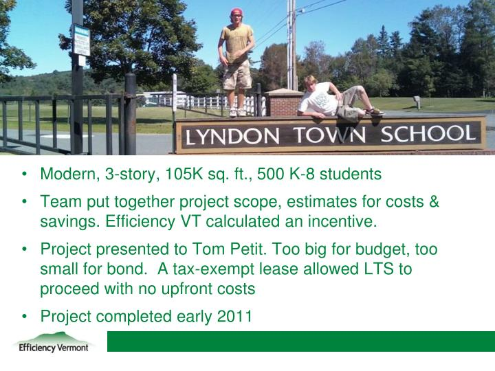 LYNDON TOWN SCHOOL
