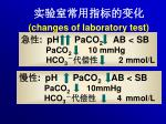 changes of laboratory test1