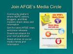 join afge s media circle