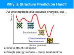 why is structure prediction hard