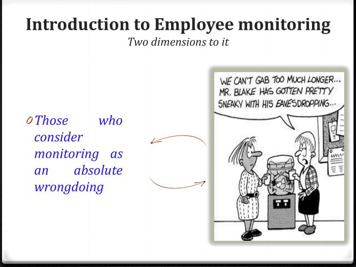 Introduction to Employee monitoring