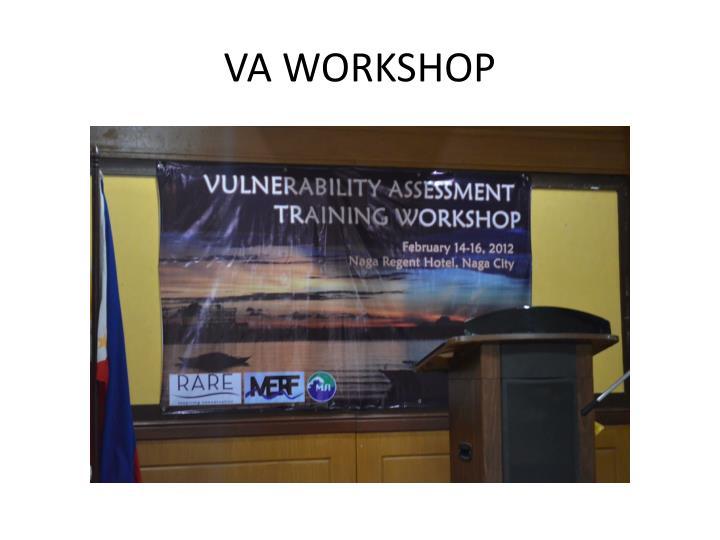 Va workshop