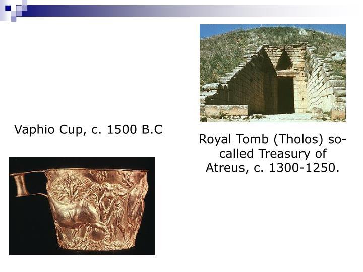 Vaphio Cup, c. 1500 B.C