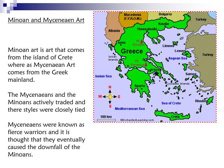 Minoan and Myceneaen Art