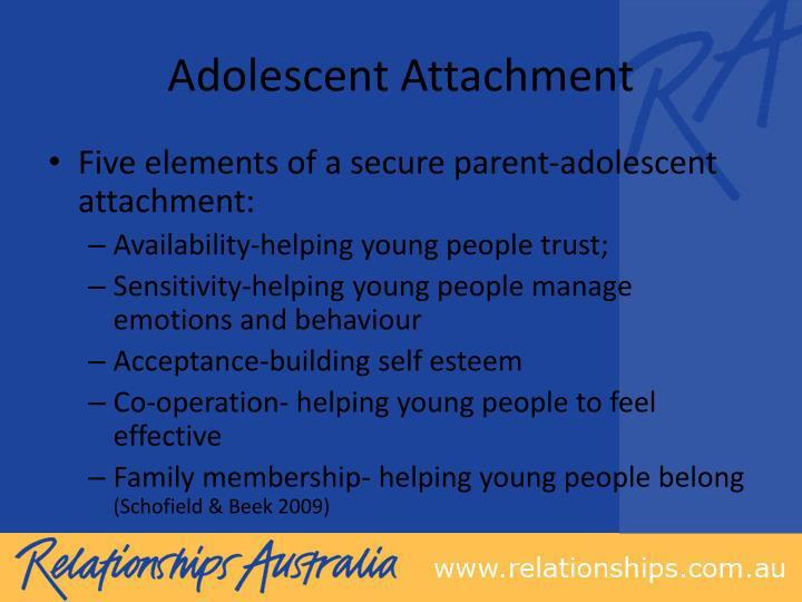 Adolescent Attachment
