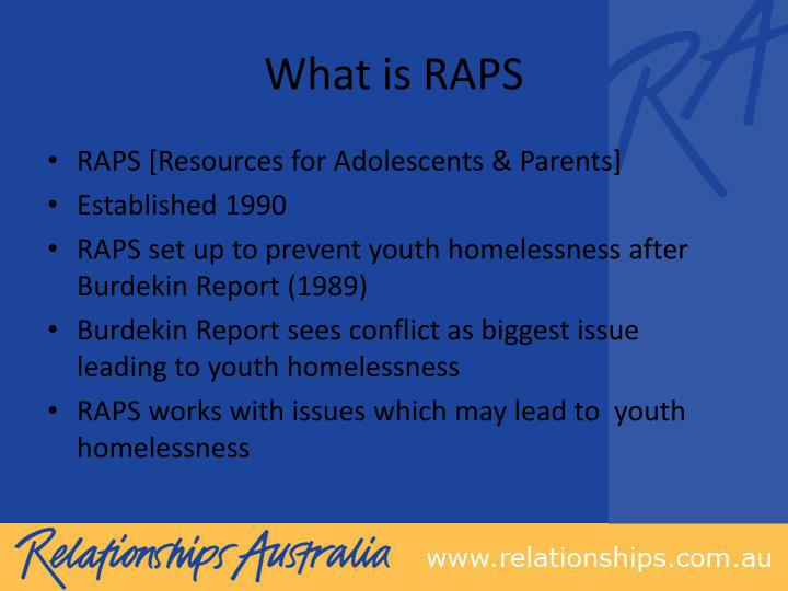 What is RAPS