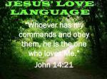 jesus love language1