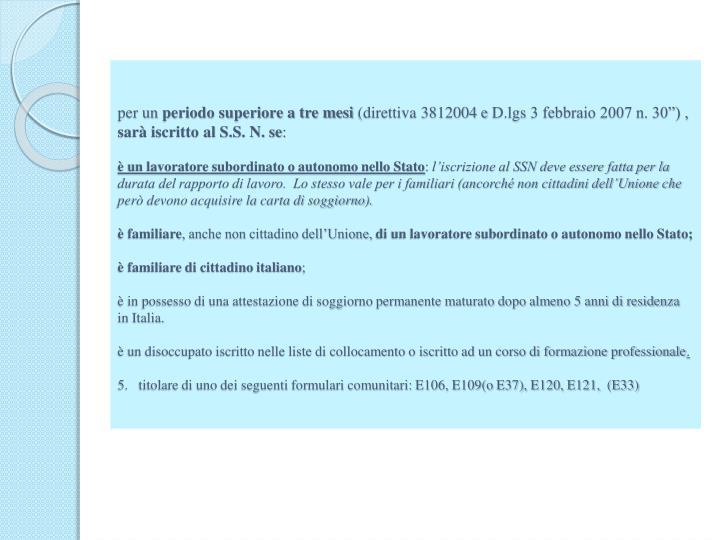Awesome Carta Di Soggiorno Per Familiari Stranieri Di Un Cittadino ...