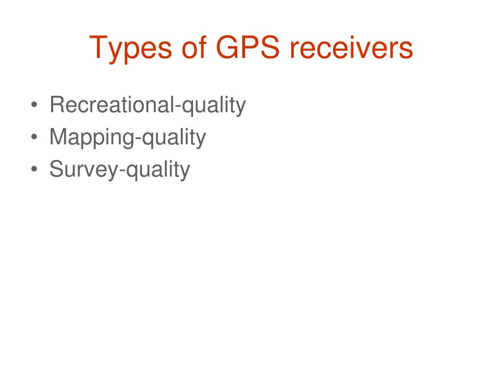 PPT - Mapping with GPS PowerPoint Presentation - ID:3852257