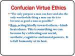 confucian virtue ethics