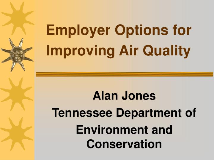 Employer options for improving air quality