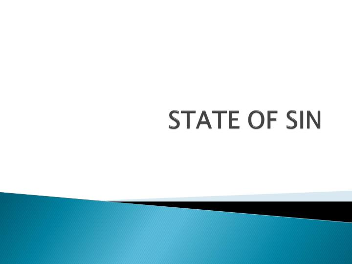 state of sin n.