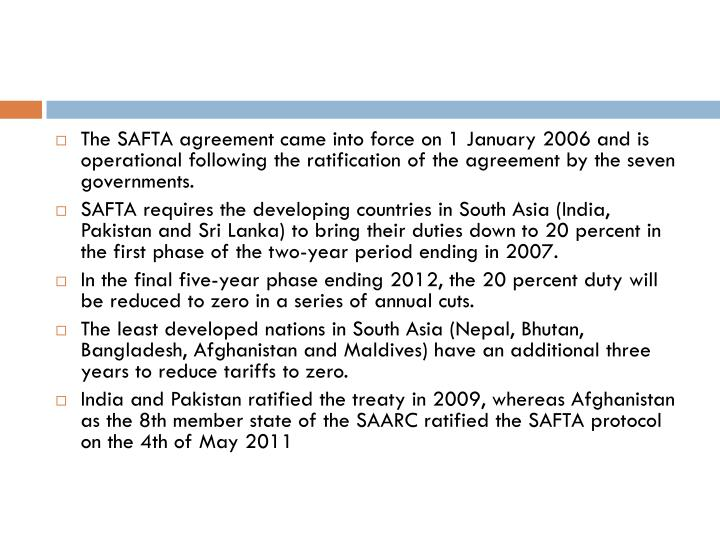 safta agreement
