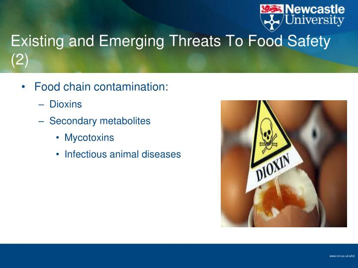Existing and Emerging Threats To Food Safety (2)
