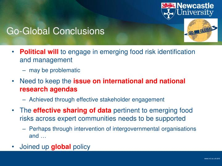 Go-Global Conclusions