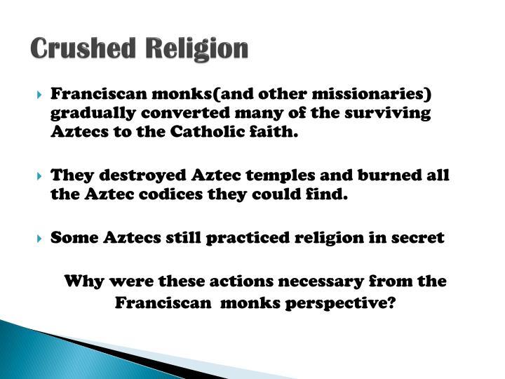 Crushed Religion