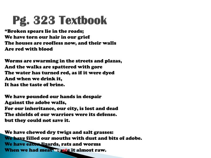 Pg. 323 Textbook