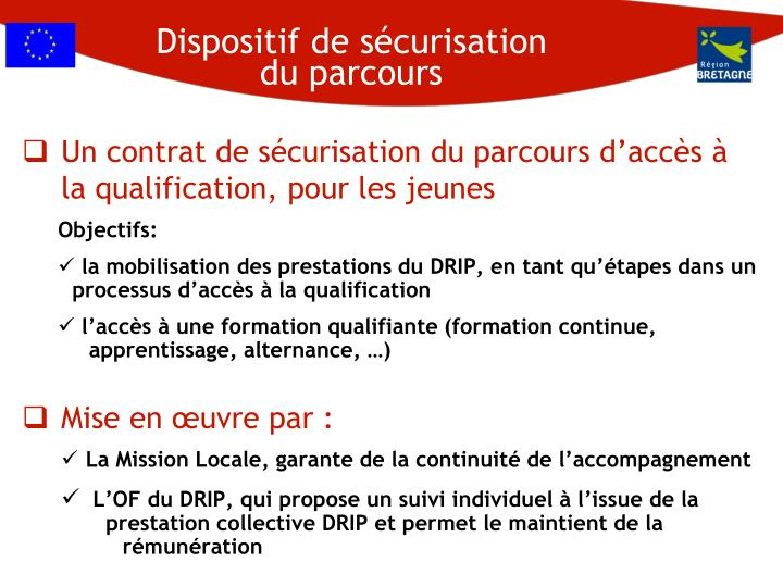 Dispositif de sécurisation